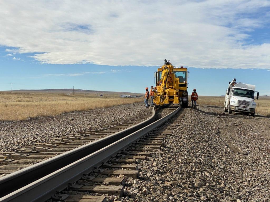 Canting Rail