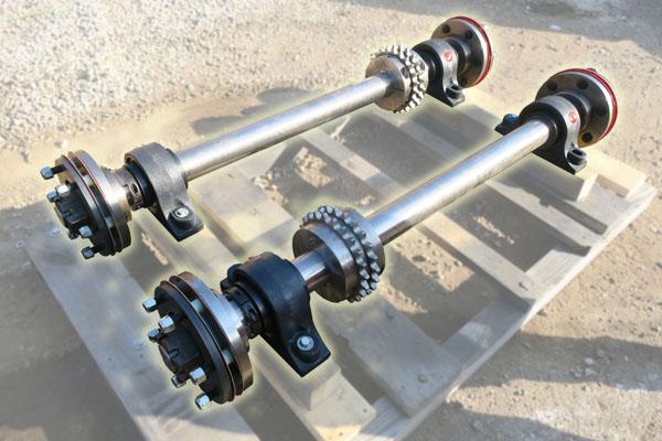 Maintenance-Free Axle Assemblies